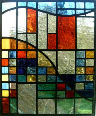 Carol arnold stained glass for Moderne vitrage