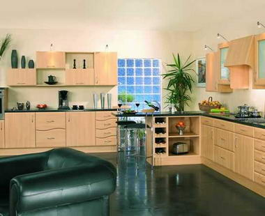 Cool Blue Kitchens
