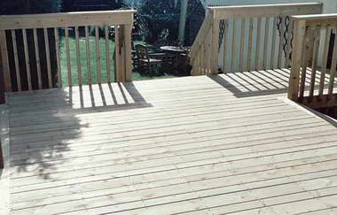 Decks-terity Garden Decking
