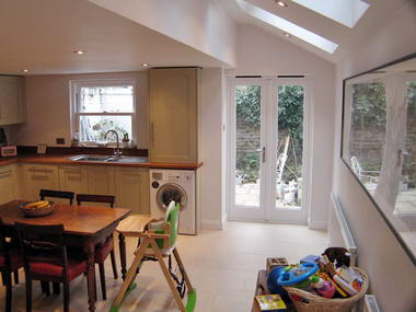 London kitchen extensions kitchen design photos for Terrace kitchen extension